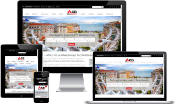 ACB Real Estate - Νέα μεσιτική ιστοσελίδα στη Θεσσαλονίκη από την G&G  title=